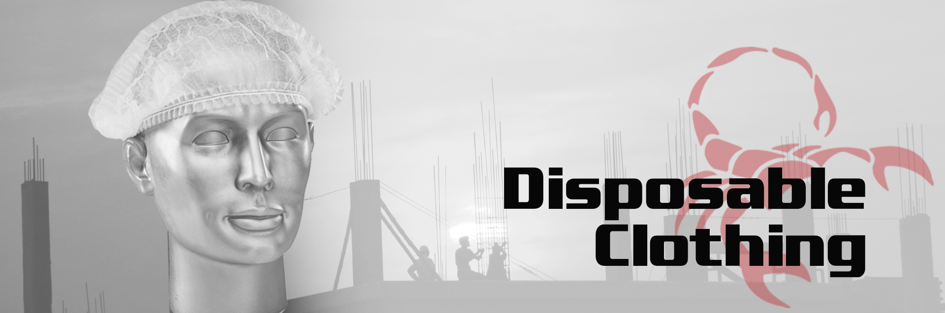 Disposable Clothing Banner
