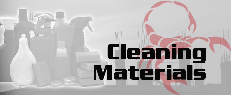 Cleaning Materials Mobile Banner