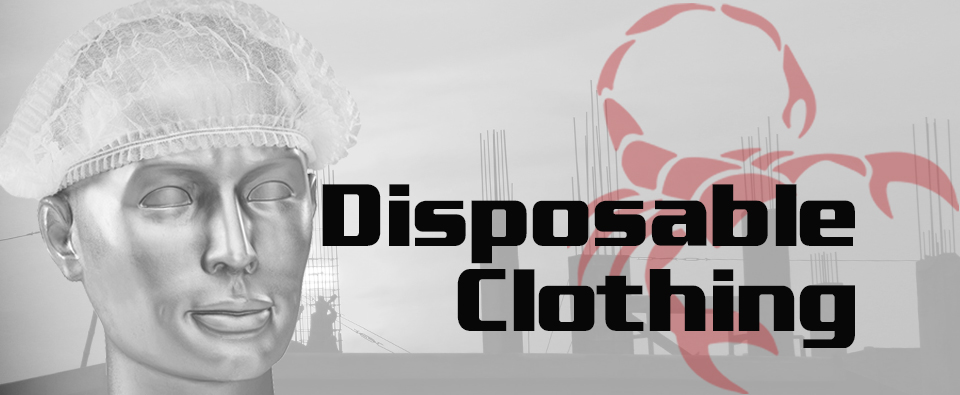 Disposable Clothing Mobile Banner